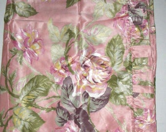 Pine Cone Hill Full Queen Duvet Ruffled Comforter Cover Pink Floral NEVER USED