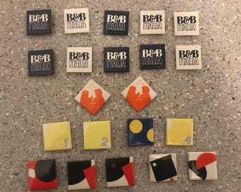 Herman Miller Factory Buttons 1.5 Inch Square