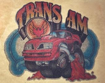 Vintage Trans-Am Guys Tee / Muscle Car / Bandit