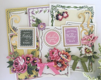 Anna Griffin Pretty Paintings Card Kit P3