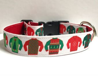 "1"" Ugly Sweaters Collar"