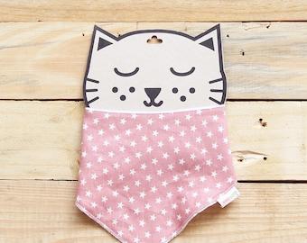 Pink stars bandana