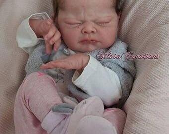 25% Off Custom Babies LE *Nina* by Adrie Stoete *Full Limbs* cloth body! Custom Baby 19 Inches Long 4-6 lbs realistic weighting