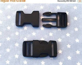 Summer Sale Buckle 25 mm black