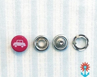 Summer Sale Snaply 10 Jersey press buttons auto