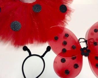 ladybug costume, ladybug baby costume, Halloween costumes, ladybug Halloween, ladybug Birthday, Purim costume, ladybug skirt