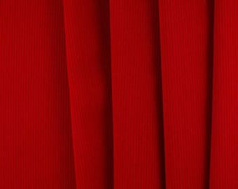 50mm (2 inch) wide Luxury Velvet Ribbon   SCARLET  RED  per metre; High End Quality. Sashes, Weddings, Dressmaking etc