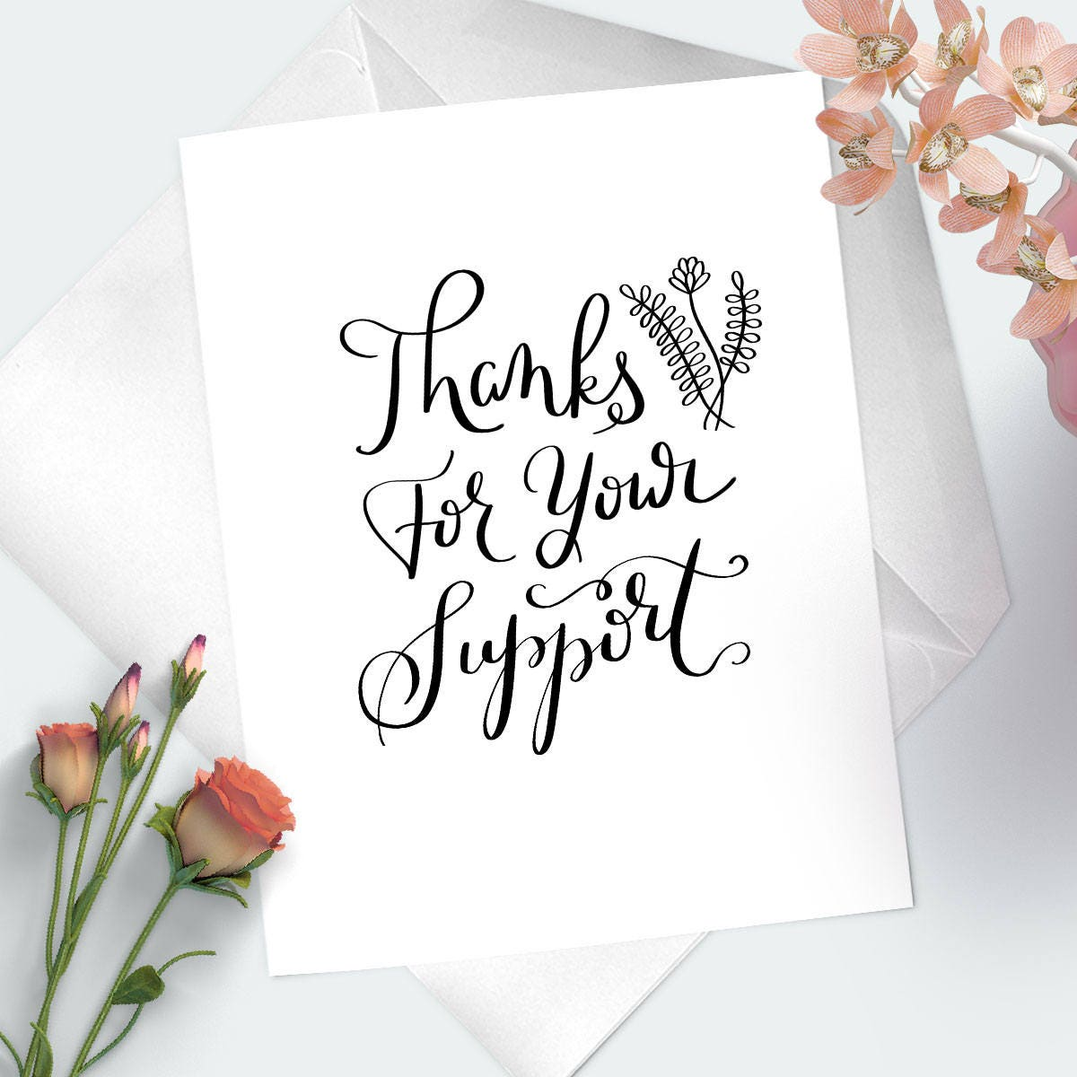 Thanks for your support thank you greeting card i appreciate you thanks for your support thank you greeting card i appreciate you card for m4hsunfo
