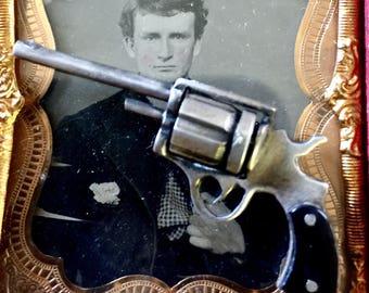 Sale-Silver Pistol Fob