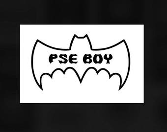 PSE Retro Bat Symbol