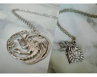 Game Of Thrones Inspired Necklaces