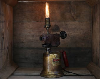 Repurposed Blowtorch Lamp