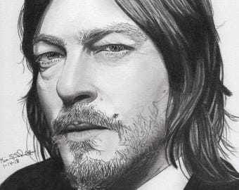Actor Norman Reedus (Daryl Dixon from The Walking Dead)