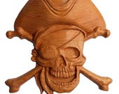 Pirate Wood Carving ~ Pir...