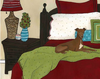 Greyhounds Bed