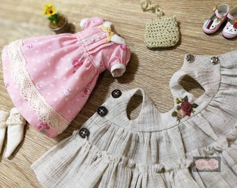 Embroidery by hand : Blythe,pureneemos,licca,momoko
