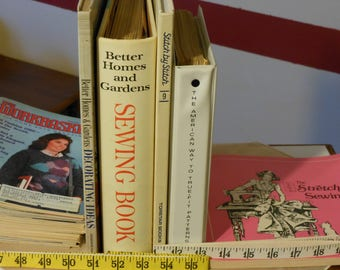 Collection of Sewing Books, Magazines & Pamphlets