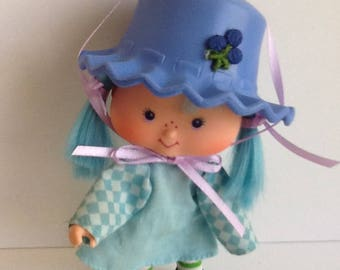 BLUEBERRY MUFFIN Original Vintage Strawberry Shortcake Doll