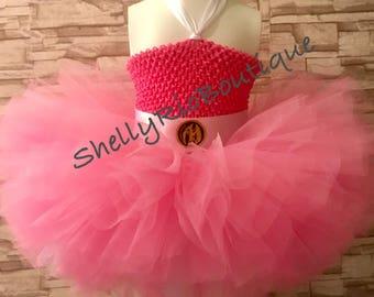 Power Ranger Tutu Dress, Pink Power Ranger Tutu Dress, Pink Tutu Dress