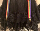 Rainbow Pride Skirt Hikes Hitchers Madame Tracy Michelles Bustle Boosters Skirt Lifts
