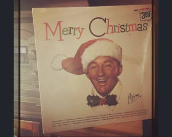2 Bing Crosby Christmas Vinyl Records
