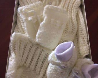 Handknitted Baby set