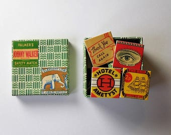 Little memory game vintage matches matching game