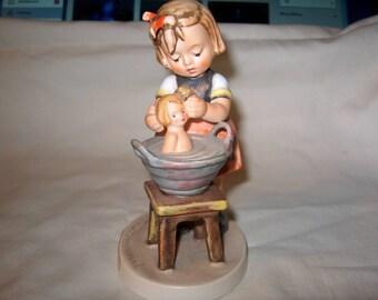 Vintage Hummel Doll Bath, Goebel Germany, WAS 60.00 - 20% = 48.00