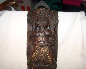 Antique Vintage Wood Tribal Art Figurine, Sculpture, WAS 125.00 - 20% = 100.00
