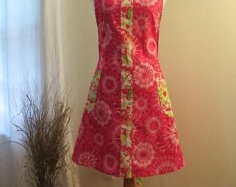 Pink Tie Dye Apron