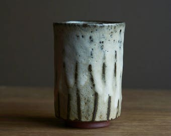 Yunomi - tea cup. Made from local native clay from The Dingle Peninsula. #239