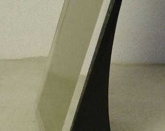funky vintage 60s/70s Colani Panton Era black Pop Art desk photo frame