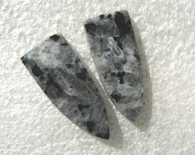 Norwegian Moonstone  earring cabochons