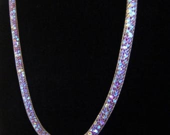 SALE SALE Swarovski Garnet Glamor Necklace