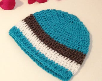newborn boy, baby hospital winter beanie hat, ready to ship baby gift, crochet knitted hat, kidswear, baby boy hat, newborn baby photo prop