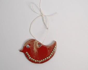 Ceramic bird,bird Ornament, ceramic mobile