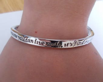 Sale on love bracelet with love message on it