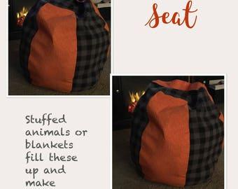 Self~Fill beanbag seat