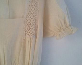 vintage calico dress
