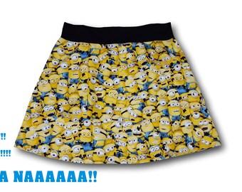 Minions Comfy Skirt