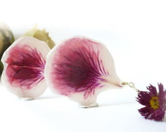 how to make resin flower earrings