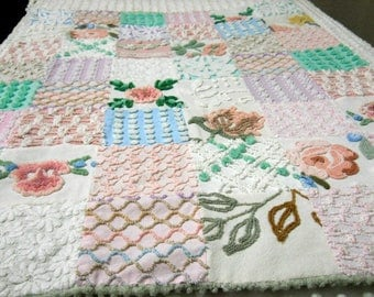 Chenille quilt   Etsy : chenille quilts - Adamdwight.com