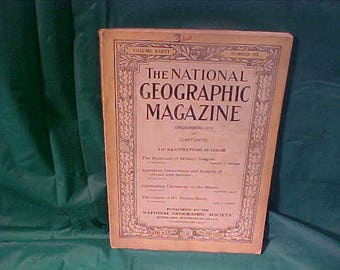 National Geographic Magazine 1919 Vol. 36 # 6 Romance Of Military and InsigniaOf Honor and Service