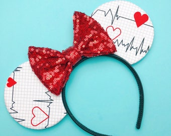 Heartbeat Mouse Ears