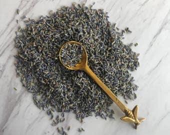 Organic Lavender Flowers, Loose Leaf Tea, Fresh Dried Lavender, Organic Dried Bath Flowers, Organic Dried Herbs, Potpourri Flowers