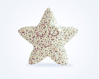 Star - flower design cushion