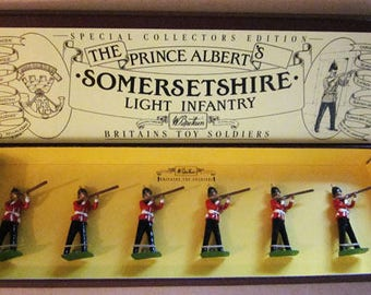 The Prince Albert's Somersetshire Infantry Boxed Set  scarce .