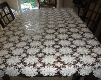 Crochet Tablecloth made by Hand