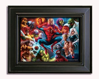 LIMITED EDITION: 90's Spider-Man Animated Poster