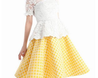 White Blouse, Kebaya Wedding Dress, Indonesian Kebaya Set & Skirt, Ethnic Handmade Dress, Party Dress, Kebaya Dress, Kebaya Peplum